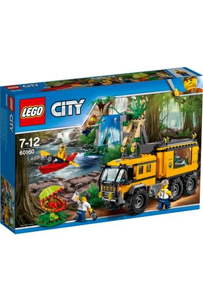 LEGO City 60160 Orman Mobil Laboratuvar