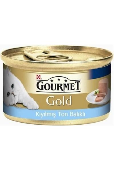 Gourmet Gold Kıyılmış Tuna Balığı Etli Kedi Konservesi 85 gr