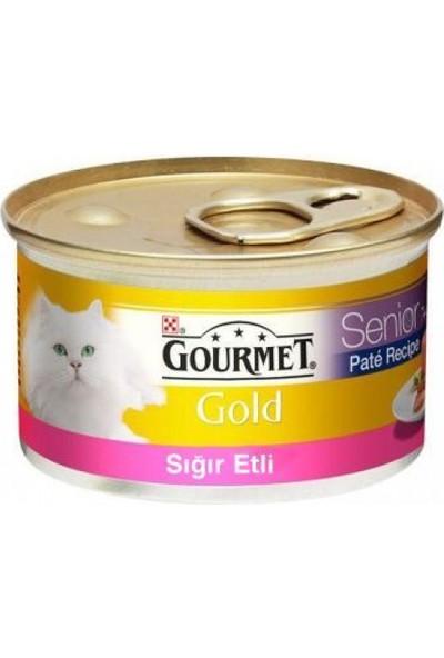 Gourmet Gold Kıyılmış Sığır Etli Kedi Konservesi 85 gr