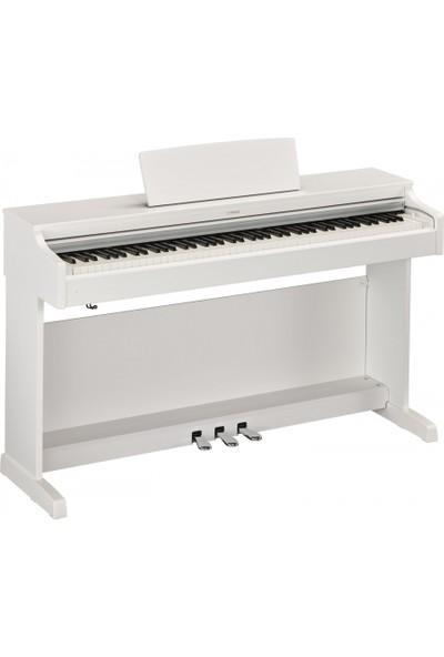 Yamaha YDP163WH Dijital Piyano (Mat Beyaz) (Tabure ve Kulaklık Hediyeli)