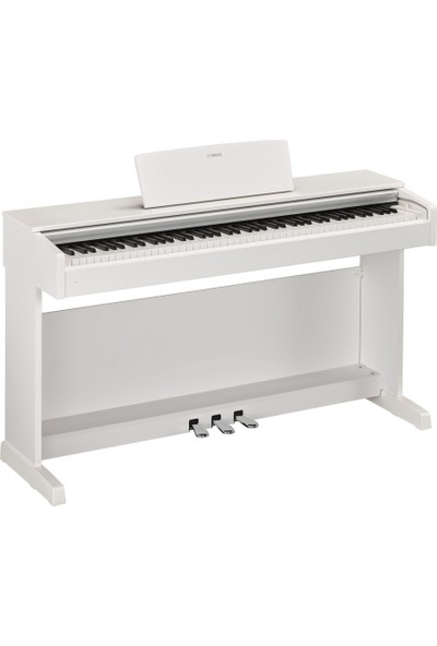 Yamaha YDP143WH Dijital Piyano (Mat Beyaz) (Stand ve Kulaklık Hediyeli)