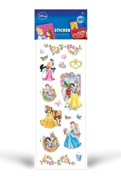 Artikel Prenses Puffy Sticker 6,5X17 Cm