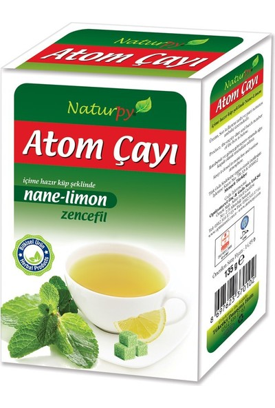 Naturpy Nane Limon Atom Çayı 135 Gr