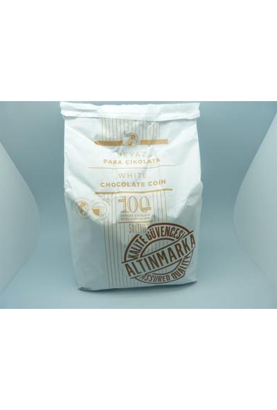 Altınmarkaaltınmarka Beyaz Pul / Para Çikolata 5Kg
