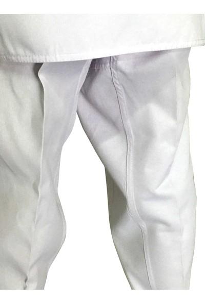 Profesyonel Siyah Yaka Taekwondo Elbisesi 130 cm