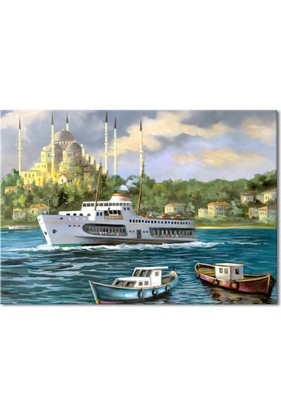 Özverler İstanbul Kanvas Tablo-6