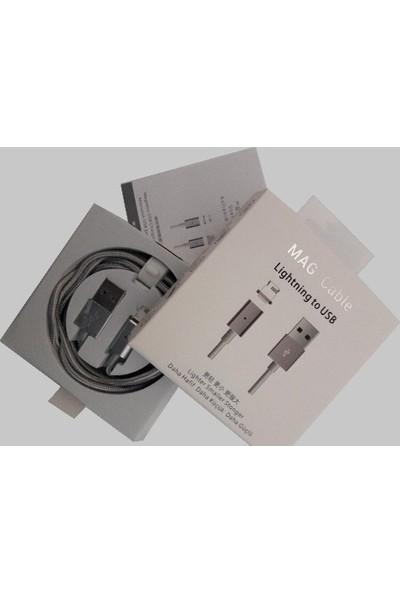 Mag Cable Lightning Mıknatıslı Şarj ve Veri Aktarım Kablosu