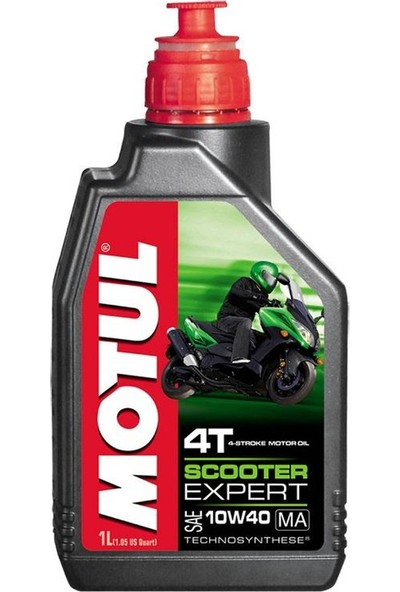Motul Scooter Expert 4T 10W40 Ma 1Lt ( Üretim Tarihi : 2019 )