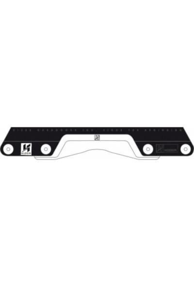 Kızer Type-M Iı Frame 2017 Black Whıte Small (38-40)