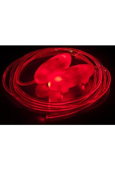 Powerslıde Fothon Led/Işıklı Bağcık / Kırmızı