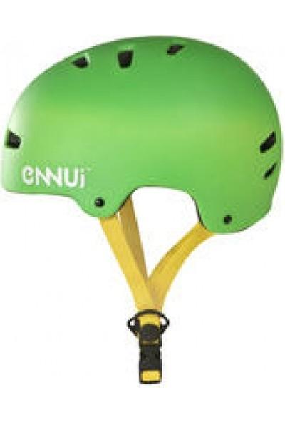Ennu Bcn Basıc Kask 2017 Yeşil S/M (54-58Cm)