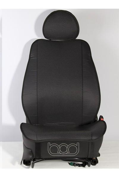 Hyundai Elantra Oto Koltuk Koruyucu Kılıf Siyah 2011-2017