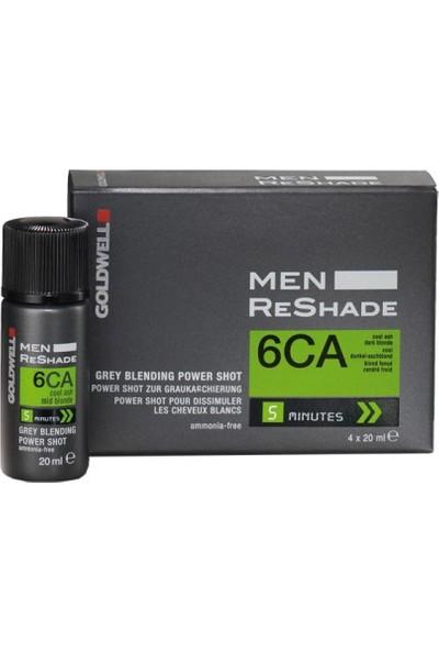 Goldwell Men Reshade Erkeklere Özel Köpük Boya 4X20Ml | 6Ca