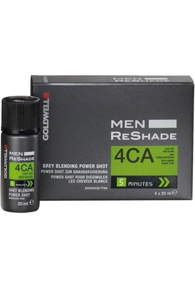 Goldwell Men Reshade Erkeklere Özel Köpük Boya 4X20Ml | 4Ca