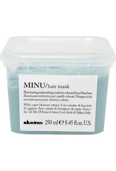 Davines Minu Boyalı Saçlar İçin Renk Koruyucu Maske 250Ml