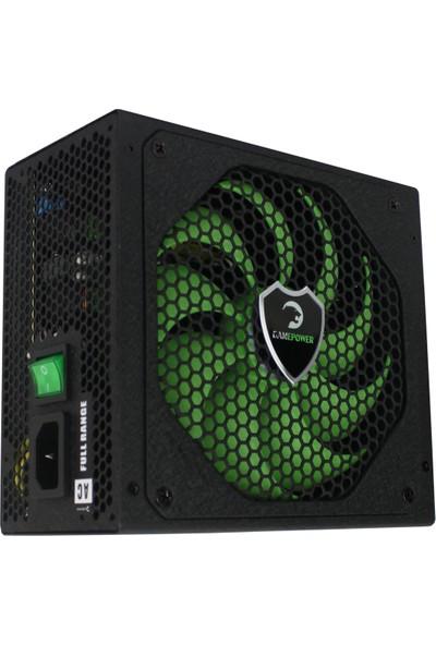 Gamepower GM-800 APFC 14cm Modüler 85+(BRONZ) 800W Güç Kaynağı