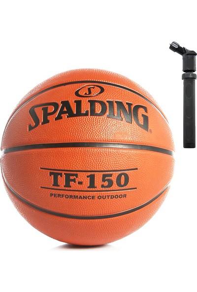 Spalding Tf-150 Basketbol Topu + Voit Top Pompası