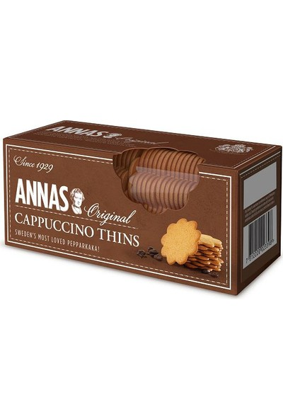 Lotus Annas Cappuccino Thins 150 gr