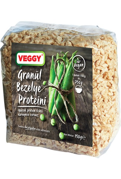 Veggy Bezelye Proteini 150 gr