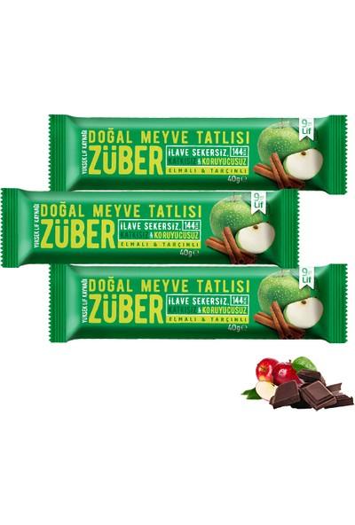 Züber Elmalı Ve Tarçınlı Doğal Meyve Tatlısı 3 Adet x 40 gr