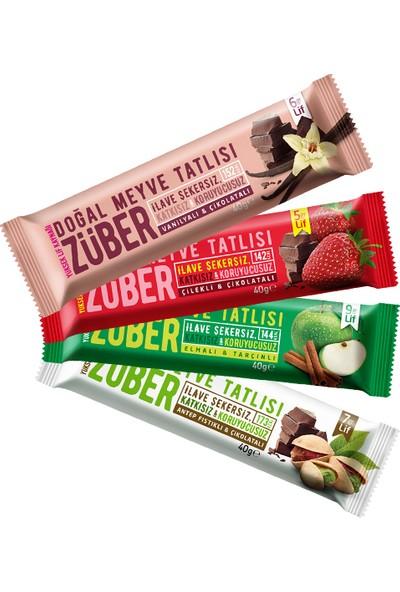 Züber Züber Mi x Meyve Tatlısı 4 Adet x 40 gr
