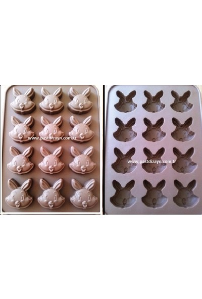 Myebi tavşan Çikolata Kalıbı