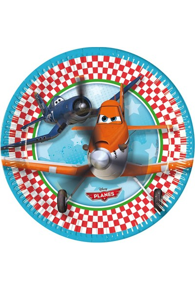 Pastisya planes Uçak Tabak