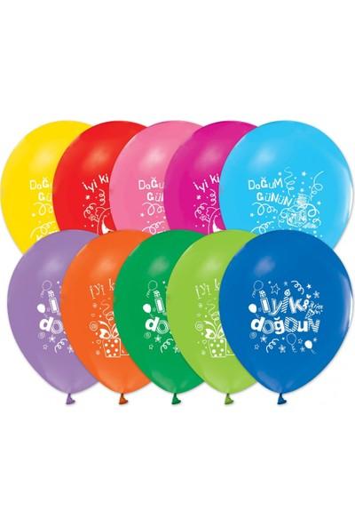 Pastisya iyiki Doğdun Pembe Balonu 5 Ad