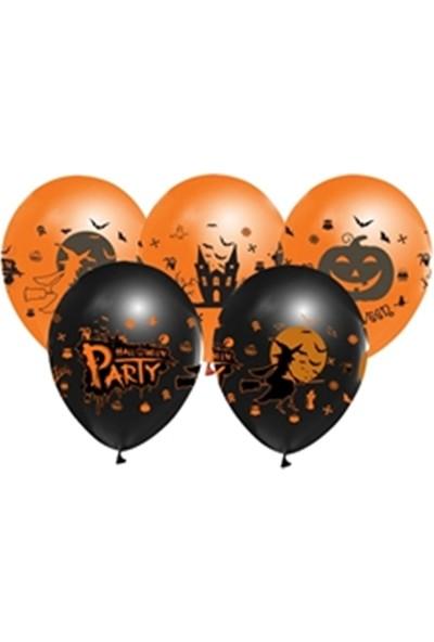 Alpenhaın halloween Latex Balon 5Ad