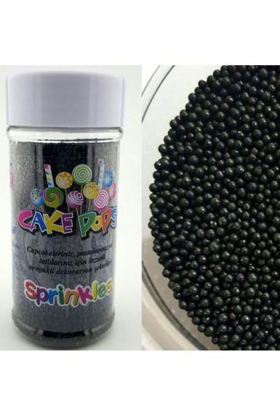 Sprinkles siyah Boncuk 2Mm 45 Gr