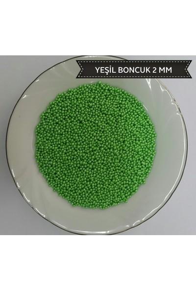 Sprinkles yeşil 2 Mm Boncuk Sprinkles 90 Gr.