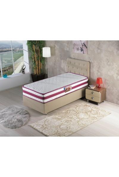 Kombin Mobilya Asya Baza - Kumaş Baza - 90x190 cm (Başlık ve Yatak Hariç)