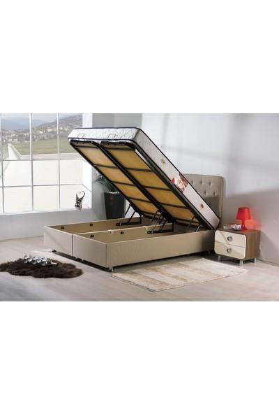 Kombin Mobilya Asya Baza - Kumaş Baza - 150x200 cm (Başlık ve Yatak Hariç)