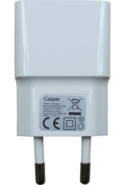 Casper Via V8C Şarj Aleti Beyaz