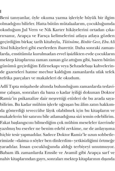 Saatleri Ayarlama Enstitüsü - Ahmet Hamdi Tanpınar