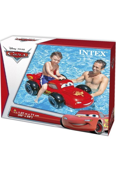 Intex Cars Binici 107X71Cm