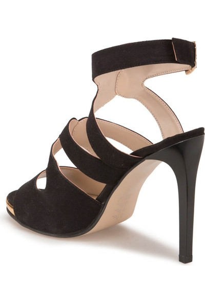 Butigo S1108 Siyah Kadın Sandalet