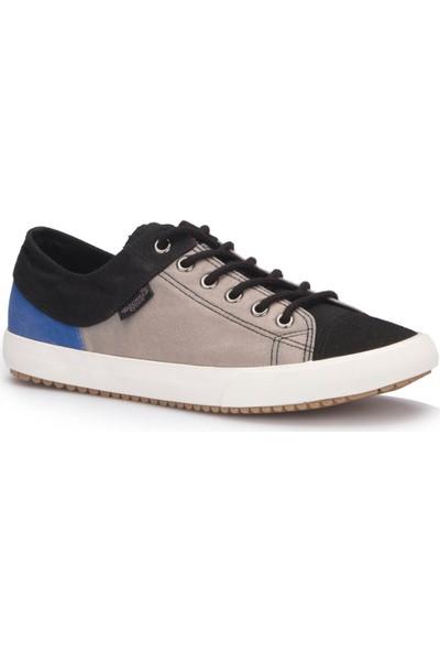 Dockers 220634 Gri Siyah Erkek Sneaker Ayakkabı
