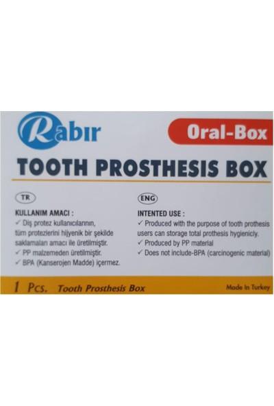 Rabır Diş Protez Saklama Kutusu