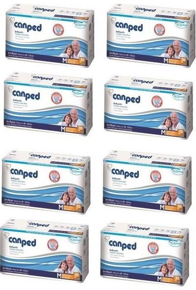 Canped Belbantlı Hasta Bezi Orta Medium 240 Adet