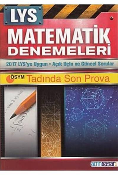 Altınbaşarı Lys Matematik Denemeleri (Ösym Tadında 12X80 Deneme)