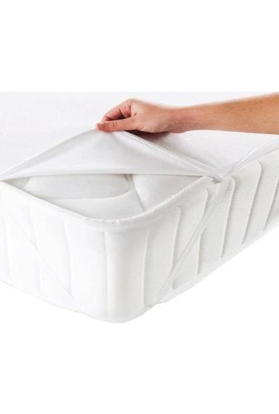 Caretex Alez Elastik Bantlı Yatak Koruyucu 160X200 cm Su Geçirmez