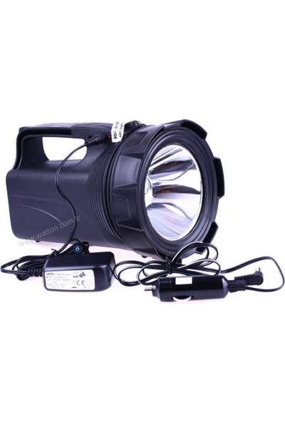 Watton Profosyonel Şarj Edilebilir Avcı Feneri 30 Watt Wt 402