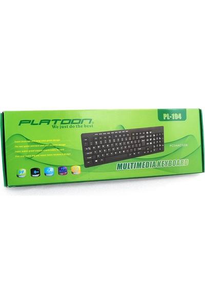 Platoon Pl-194 Multimedya Klavye