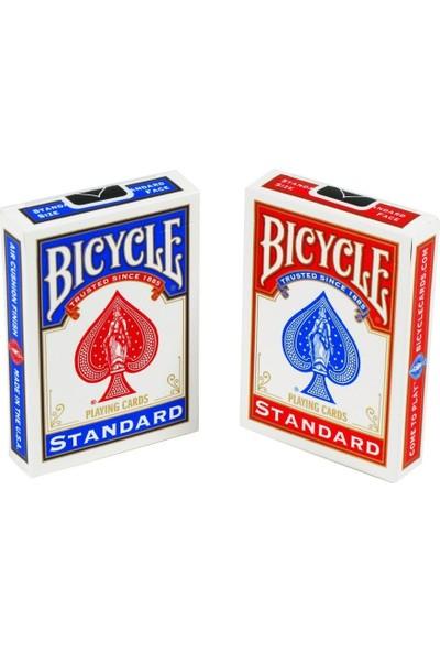 Orjinal Bicycle Standart Oyun Kağıdı (Bicycle İskambil Oyun Kağıdı 2 Paket Kırmızı Ve Mavi)