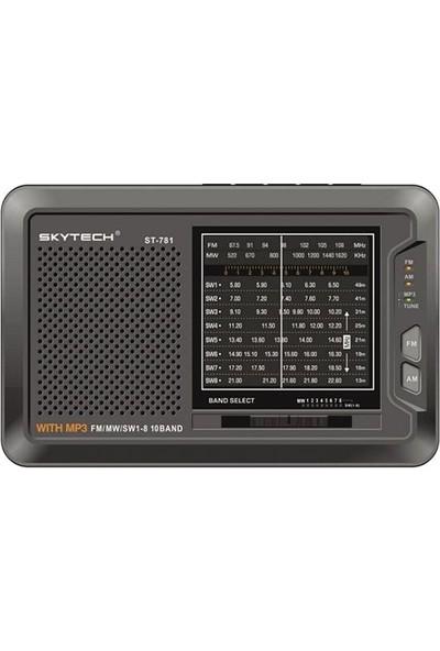 Skytech St 781 Dünya Radyo Usb+Sd