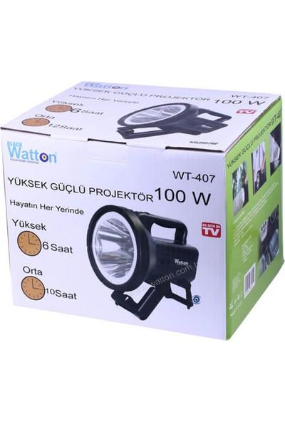 Watton Wt 407 100 Watt Güçlü Projektör