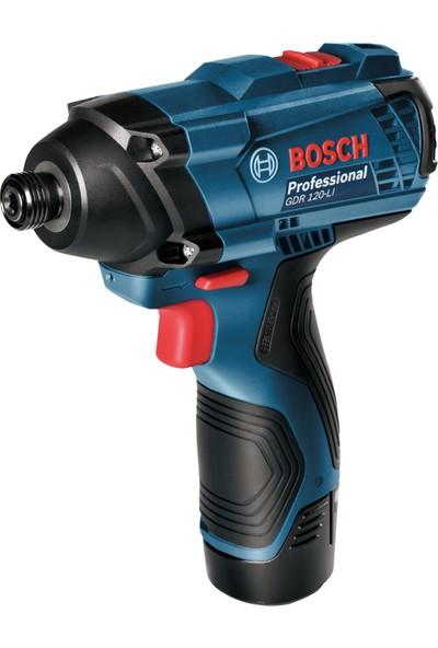 Bosch Professional GDR 120-LI 12 Volt 1,5 Ah Çift Akülü Darbeli vidalama - Çantalı