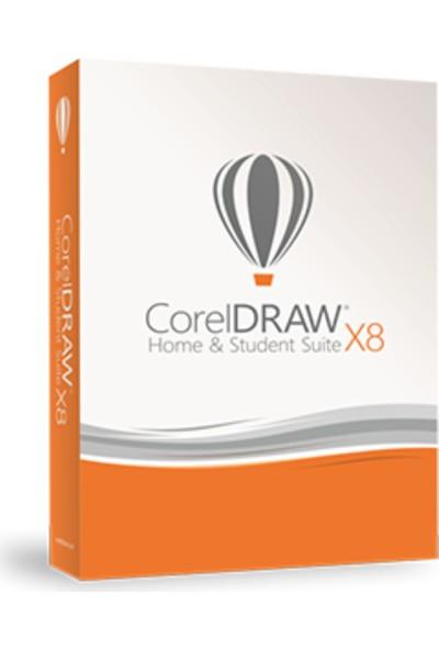 Corel Draw Graphics Suite X8 Home And Student Programi / Ev Ve Öğrenci Paketi 3 Pc İçin