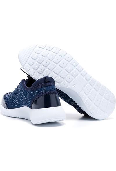 Drexel Fuel Taşlı Lacivert Günlük Kadın Ayakkabı